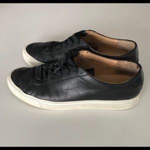 Koio Capri Onyx Shoes in Black